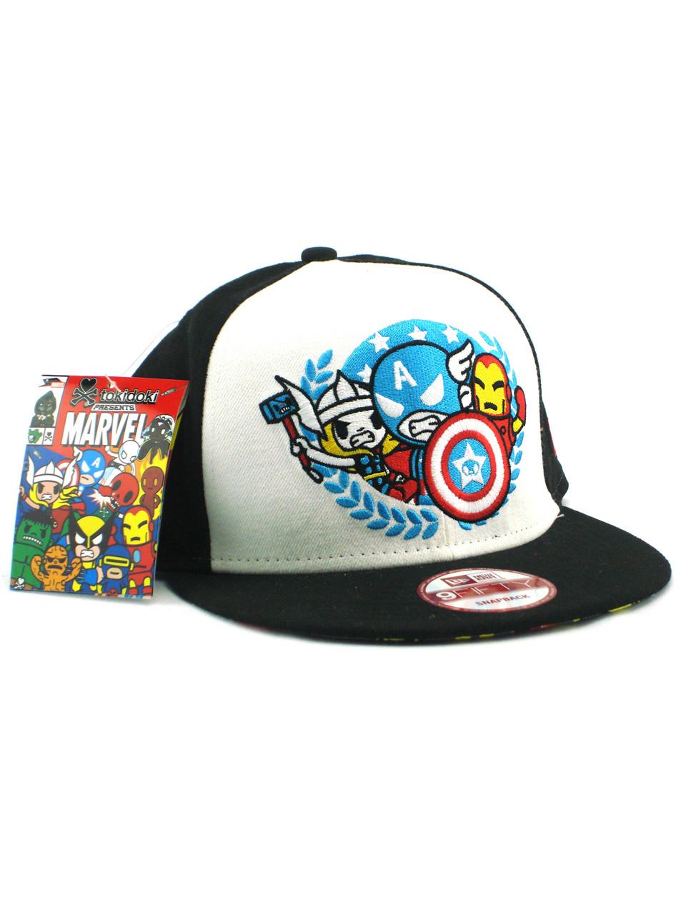 los angeles 12fd7 15cc7 ... clearance new era tokidoki avengers team seal 9fifty snapback hat view  1 834ae 93416