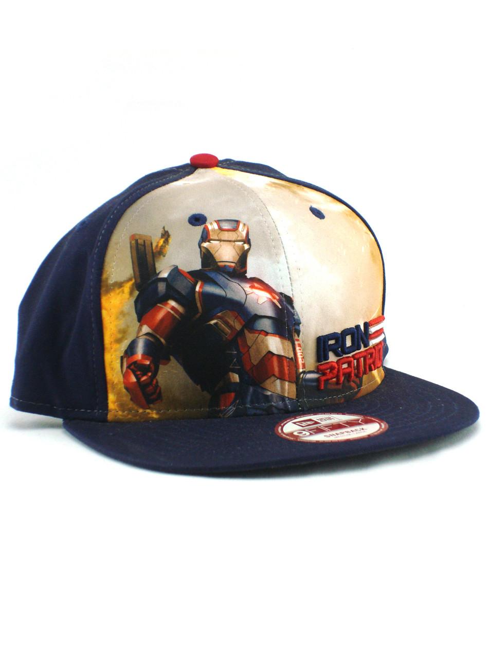 sports shoes 88341 52b09 03086 90383  greece new era iron man 3 iron patriot 9fifty snapback hat  view 1 8d1de bcd62