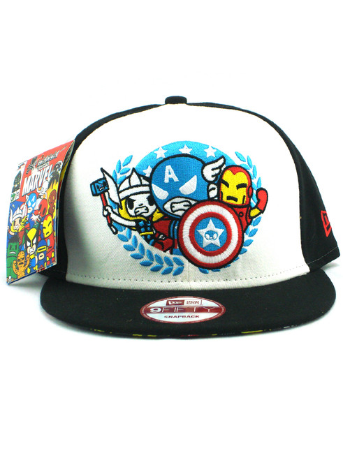 competitive price 36e32 64190 50% off tokidoki marvel trio snapback 9fe9e 61ecd  reduced new era tokidoki  avengers team seal 9fifty snapback hat view 3 82bc6 17050
