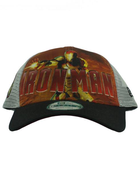 the latest 08dbb f1825 ... closeout new era iron man 3 iron man 9forty adjustable trucker hat view  3 1d149 30f0e