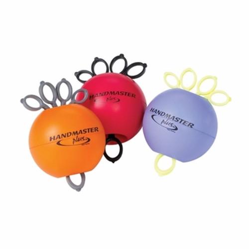 Handmaster Hand exerciser, set of 3 - 1 Orange, 1 Red, 1 Purple