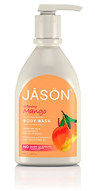 Jason Mango & Papaya Body Wash 30 Fl. Oz.