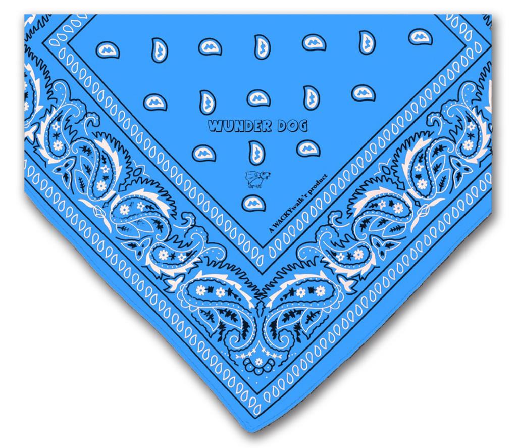 Blue Dog Bandana
