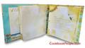 Half Page Recipe Organizer - Color My World Blue & Green