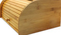 Bread Monster Bamboo Bread Box