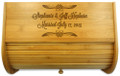 Forever After Bamboo Bread Bin