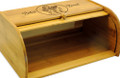 Miss Mixer Bamboo Bread Box
