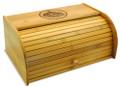 Rabbit Family Bamboo Breadbox