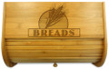 Wheat Grain Bamboo Bread Box