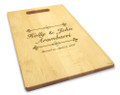 Bliss 10x16 Hand Hole Maple Cutting Board
