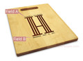 Columns 10x16 Handle Cutting Board Maple Made in USA