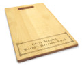 Corinthian 10x16 Handled Personalized Cutting Board