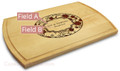 Petals 10x16 Grooved Custom Cutting Board