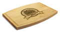 Blue Ribbon 9x12 Grooved Engraved Cutting Board