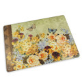 Botanical Blossoms Cutting Board - Glass