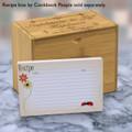 4x6 Recipe Card Lovebugs Artsy Orange 40ea