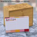4x6 Recipe Card Mondrian Modern 40ea