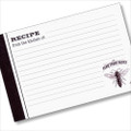 4x6 Recipe Card  - Honey Bee Farm