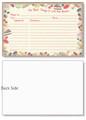 4x6 Sweet Treats Recipe Card
