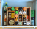 Adjustable Spice Shelves/Drawer Multikeep Organizer