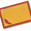 4x6  Designer Recipe Cards with Covers - Chili Pepper
