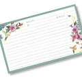 3 x 5 Hummingbirds Recipe Card