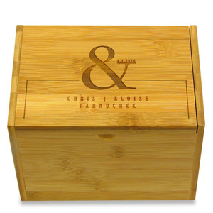 Recipe box warehouse big selection of recipe boxes to choose form ampersand personalized 4x6 recipe box thecheapjerseys Image collections