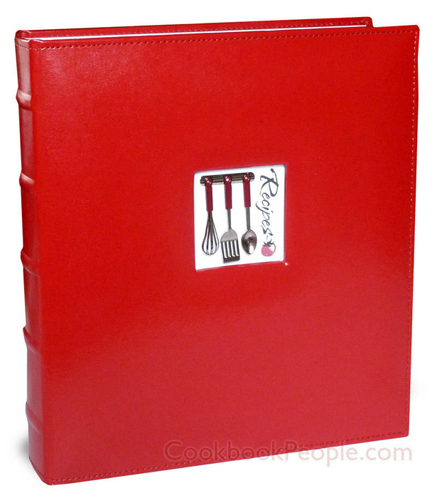 Full Page Recipe Organizer - Red A La Carte