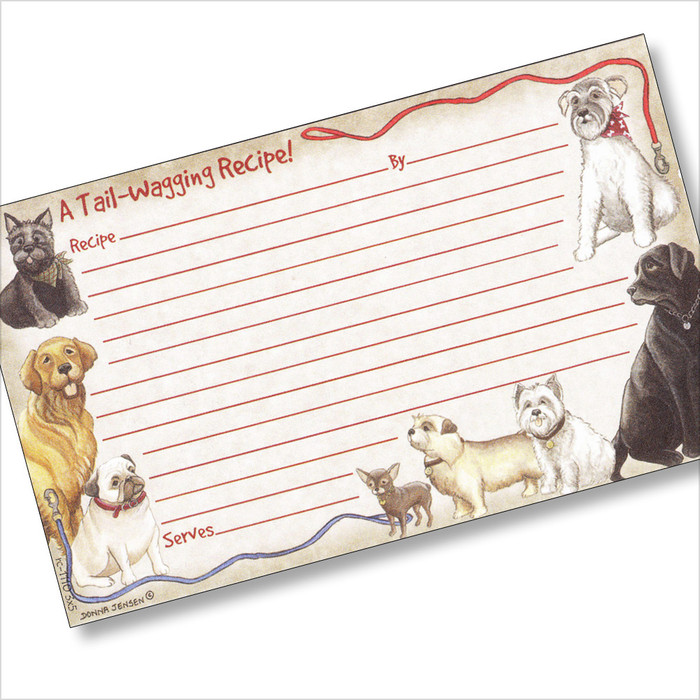 3x5 Faithful Friend Recipe Card
