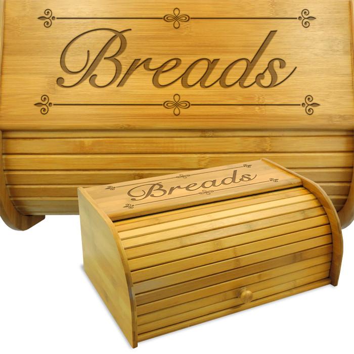 Bliss Bamboo Bread Bin