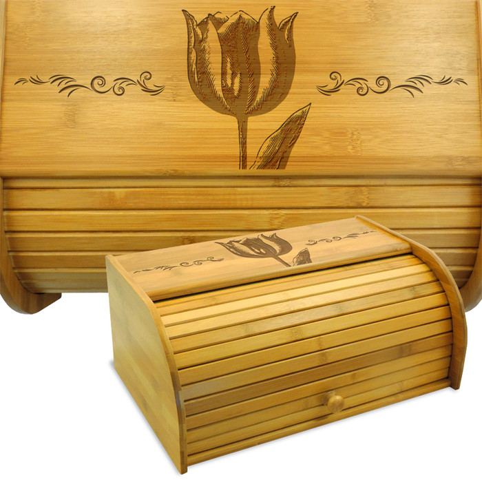 Tulip Bread Box