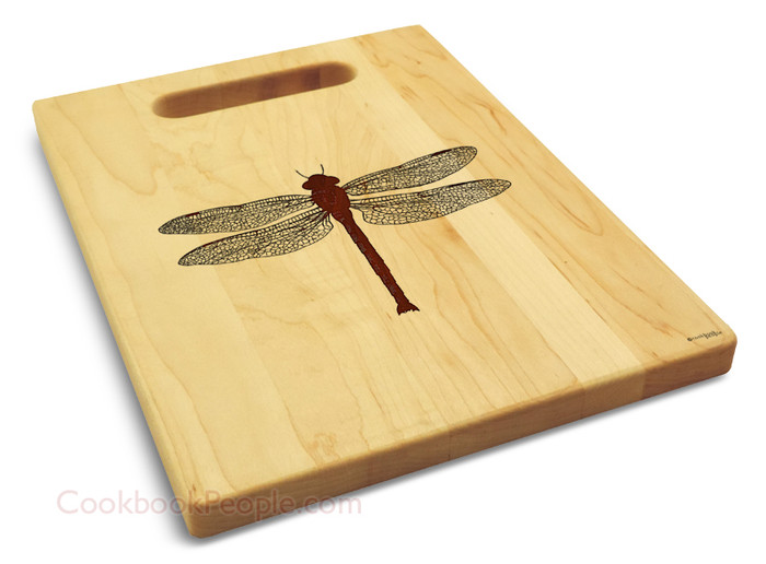 Personalized Dragonfly Cutting Board