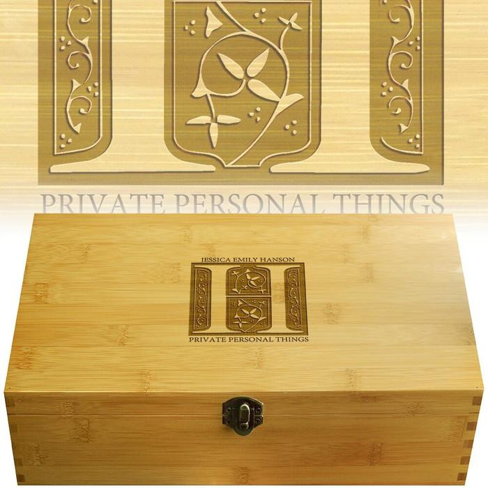 FairyTale Bamboo Multikeep Wood Box