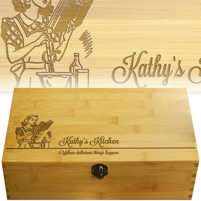 Miss Mixer Wood Multikeep Gift Box