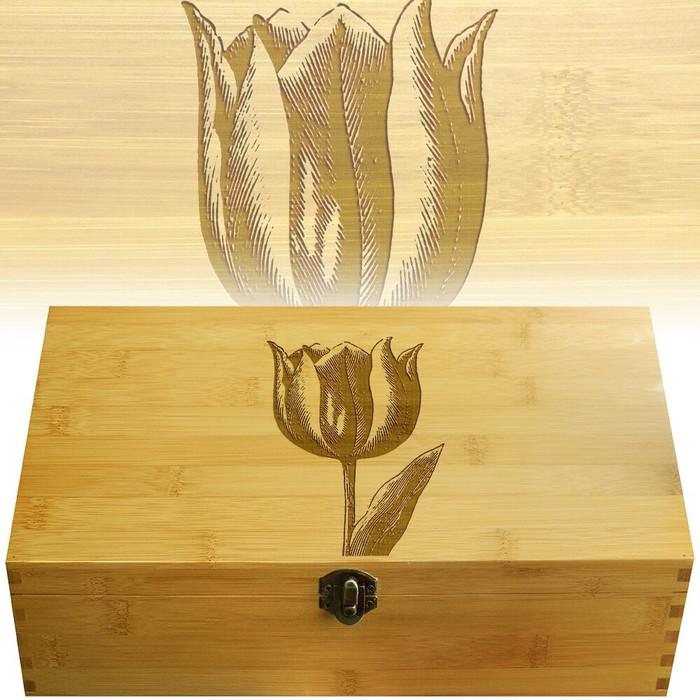 Tulip Decorative Multikeep Organizer Box