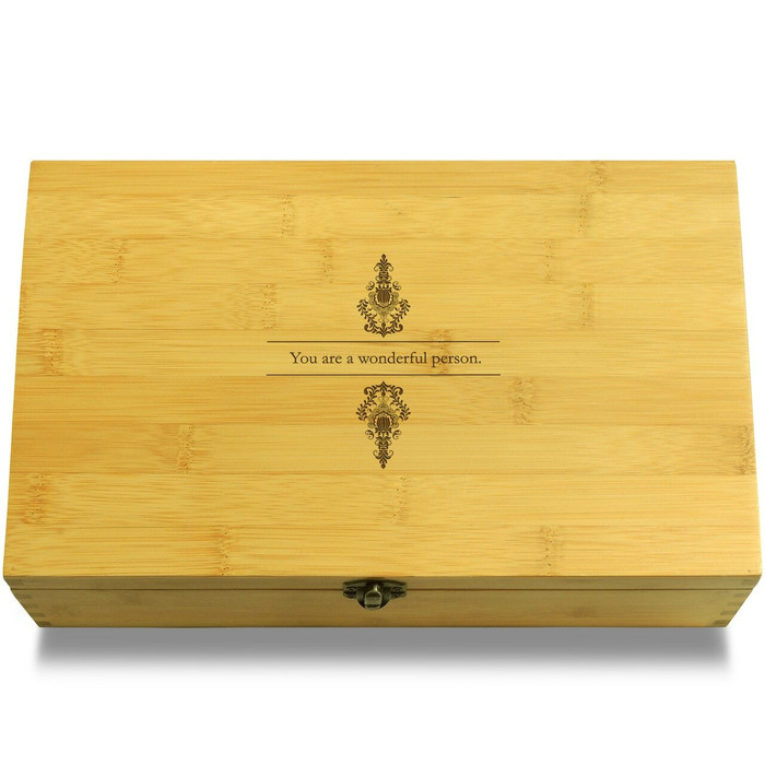 Wonderful Person Wooden Box Lid