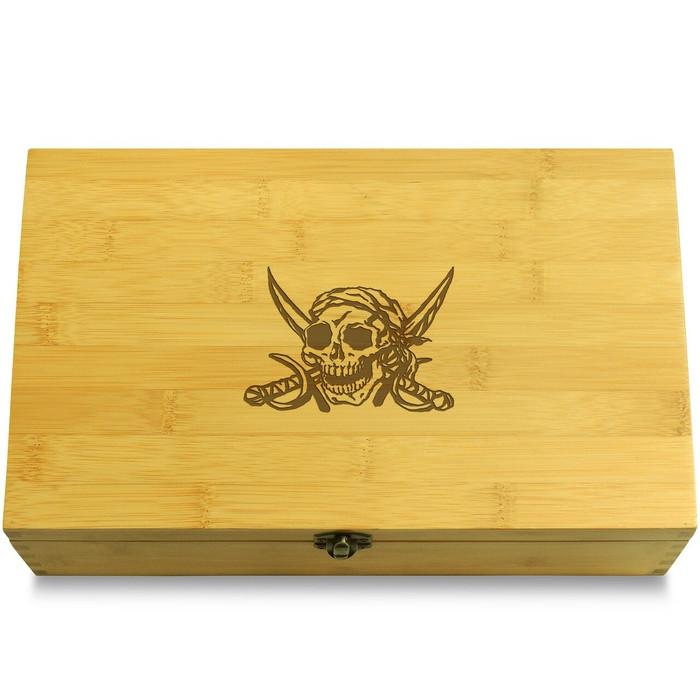 Pirate Skull Box Lid