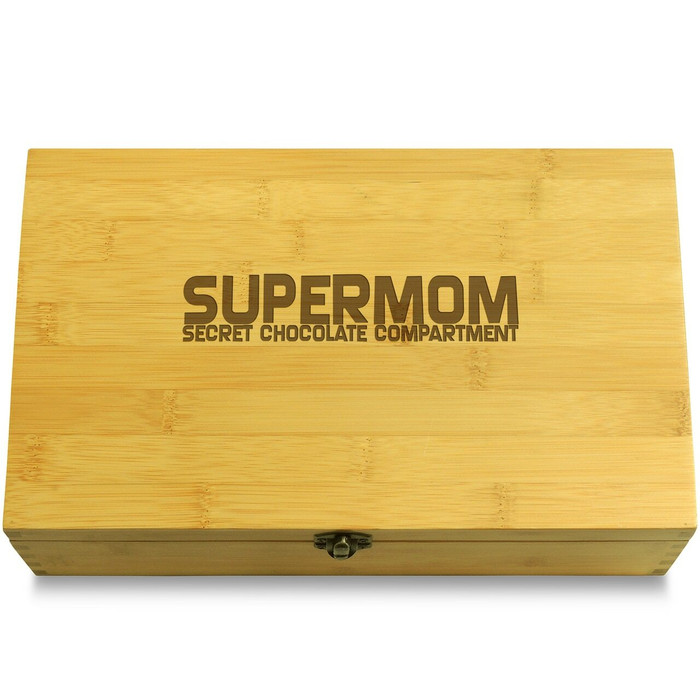 Supermom Choc Mothers Day Multikeep Box Wood Chest
