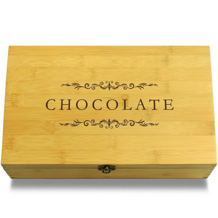 Chocolate Filiigree Box Lid