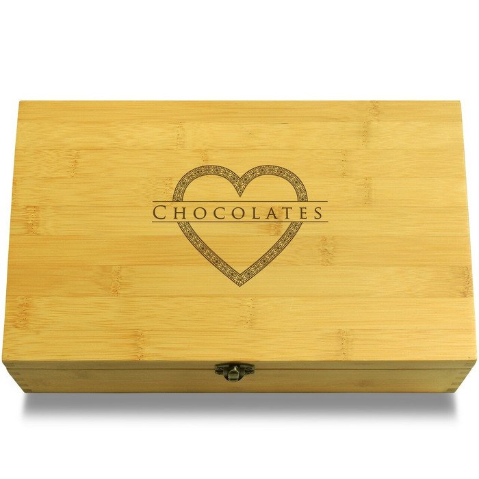 Heart Chocolates Organizer Box Lid