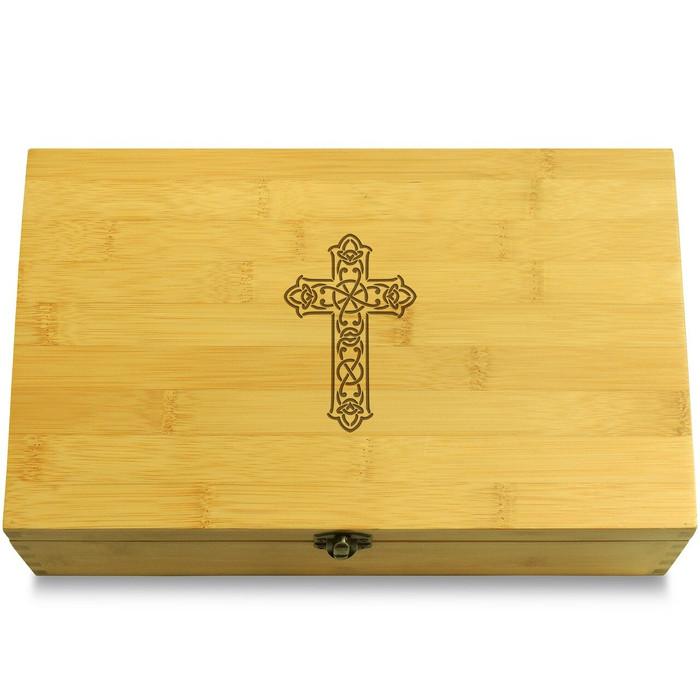 Traditional Cross Box Lid