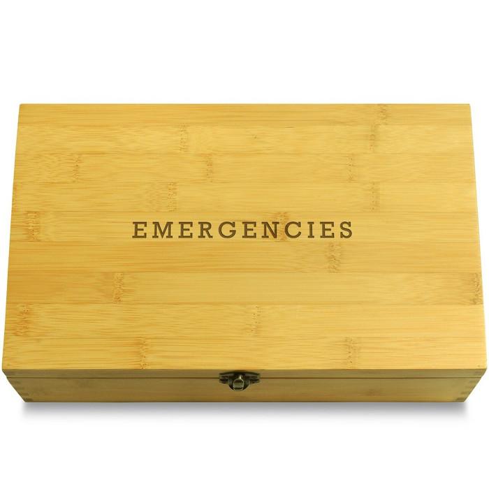 Emergencies Organizer Chest Lid