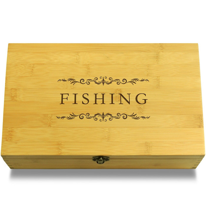 Fishing Filigree Chest Lid