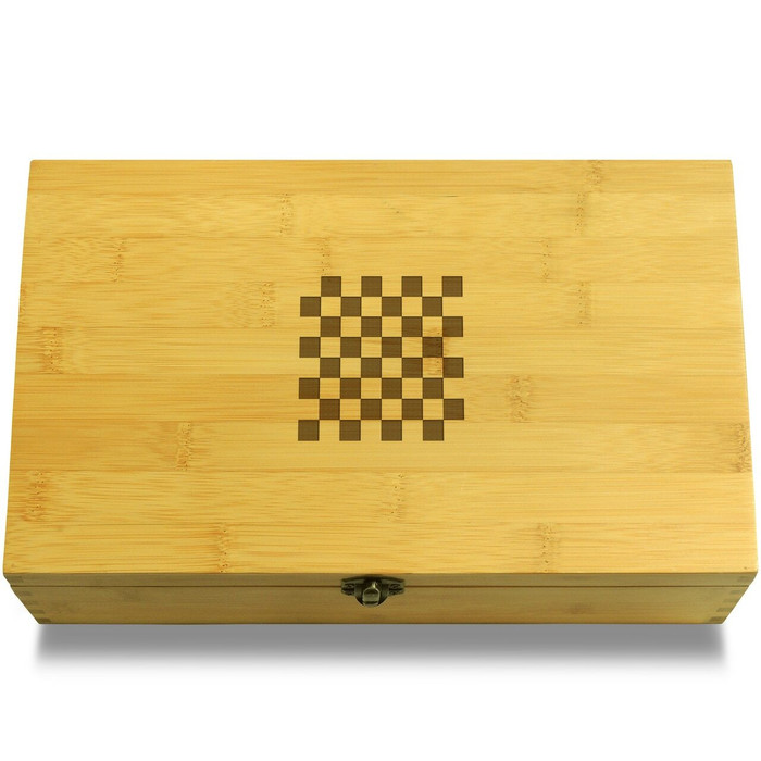 Checkerboard Box Lid