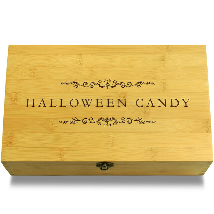 Halloween Candy Filigree Box Lid
