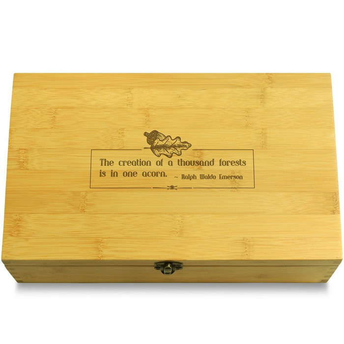 Acorn Organizer Box Lid