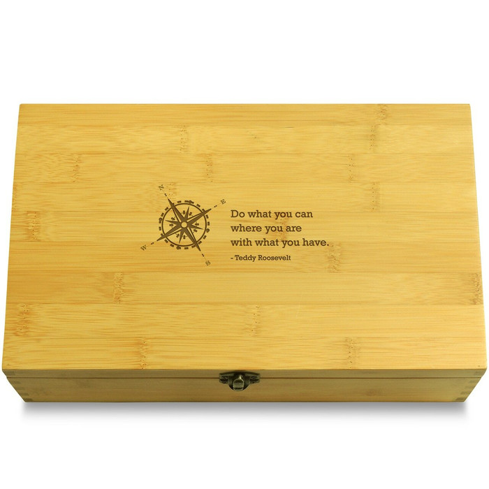 RooseveltCompass Wooden Box Lid