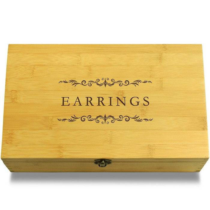 Earrings Organizer Organizer Box Lid
