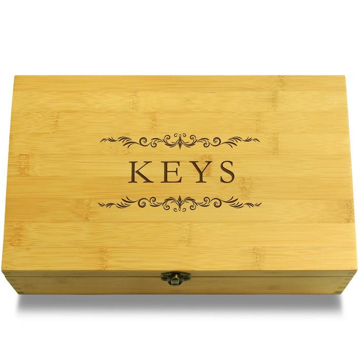 Keys Filigree Organizer Lid