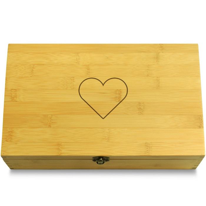 Hearts Love Multikeep Box Moving Wall Chest